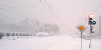 8 декабря сразу в пяти сибирских регионах ожидают ухудшения метеоусловий и осадков в виде мокрого снега.
