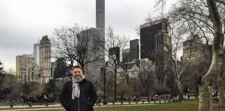 Денис Иванов в Центральном парке Нью-Йорка