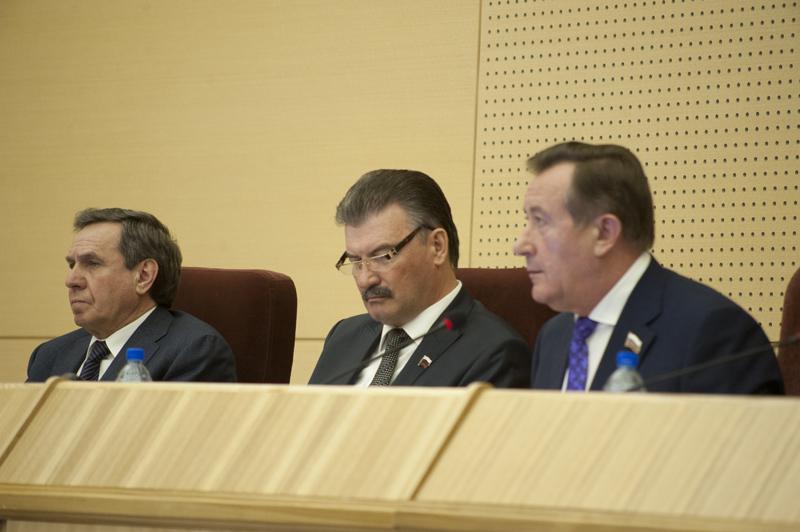 Владимир Городецкий, Сергей Титков, Иван Мороз (слева направо)