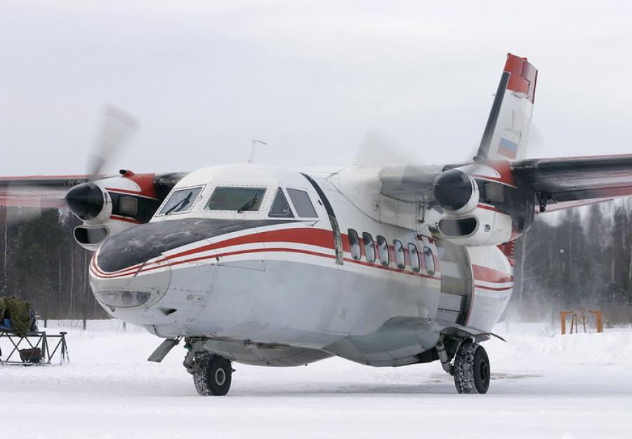 Администрация Томской области приняла решение продлить субсидирование межрегиональных авиарейсов, выполняемых на самолётах L-140.