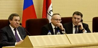 Владимир Городецкий, Андрей Панферов, Андрей Шимкив (слева направо)