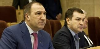 Майис Мамедов (слева)