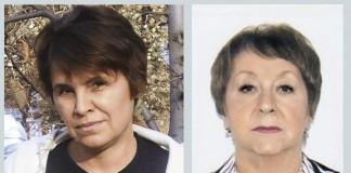 Ирина Борискина и Татьяна Власова