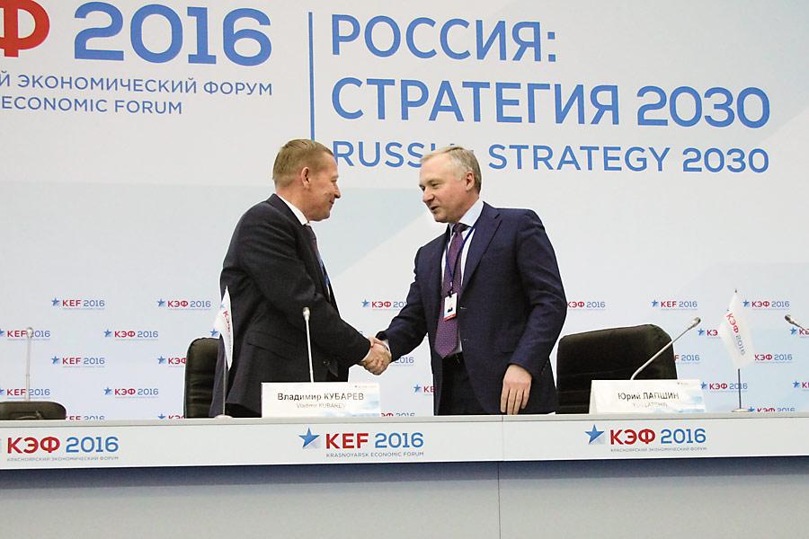 Владимир Кубарев и Юрий Лапшин