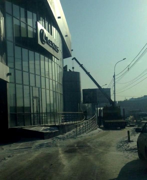 В ближайшее время будут сняты элементы внешней идентификации салонов Toyota и Lexus в Новосибирске и Барнауле