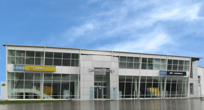 Миниатюра для: В Красноярске выставлены на продажу два крупных дилерских центра