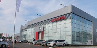 Дилерский центр Nissan в Томске, фото: vk.com
