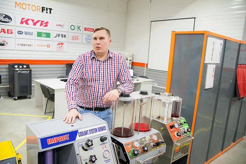 Директор сети FIT Service Данил Соловьёв считает, что кризис способствует развитию отрасли техобслуживания.