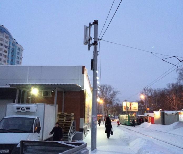 Миниатюра для: Базовые станции МТС в Новосибирске встали на опоры электропередач