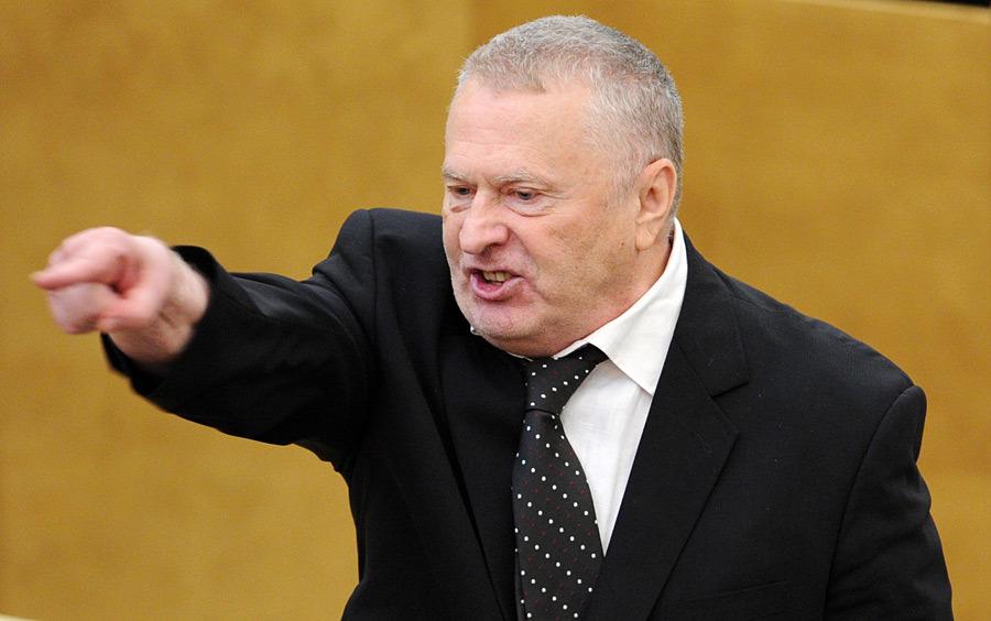 Председатель ЛДПР Владимир Жириновский.