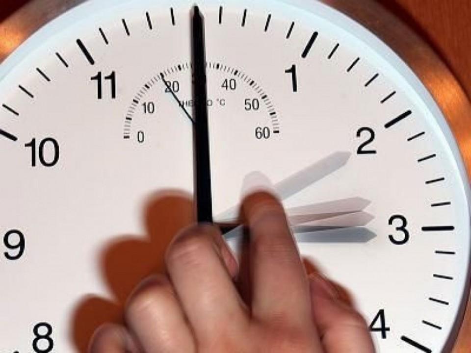 Не забудьте перевести часы в Новосибирской области