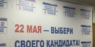 40 человек участвует в праймериз «Единой России» в Новосибирской области