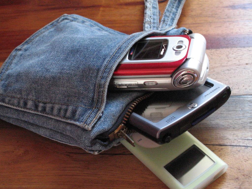 Сшить сумку для телефона 37