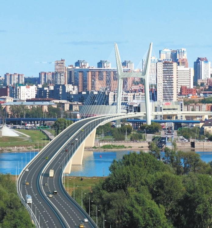 Миниатюра для: Правительство НСО объявило концессионный конкурс по строительству четвертого моста