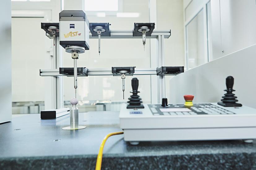 Контроль измерения геометрических параметров керамической головки эндопротеза