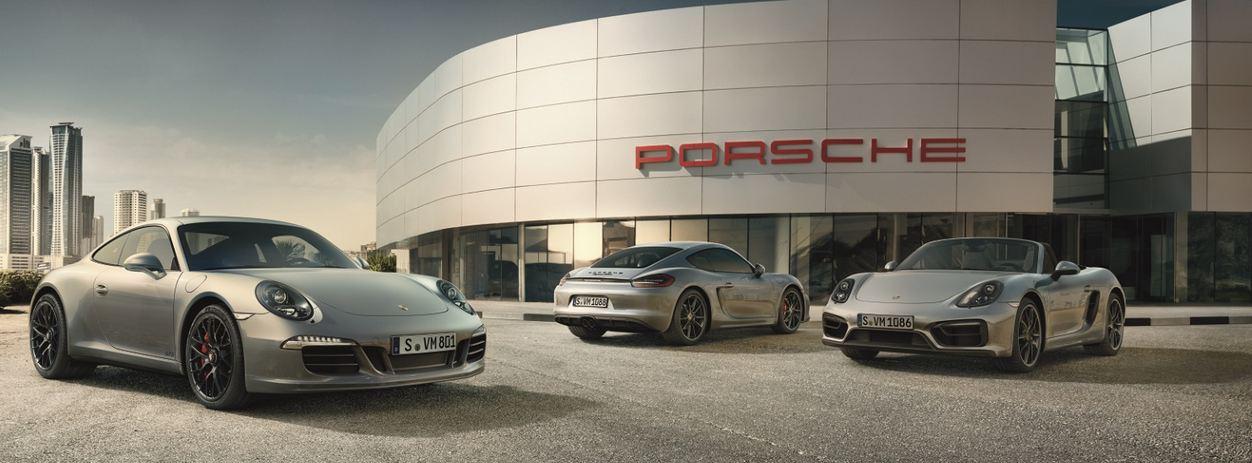 автосалон Porsche