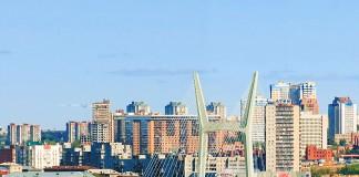 Четвертый мост в Новосибирске