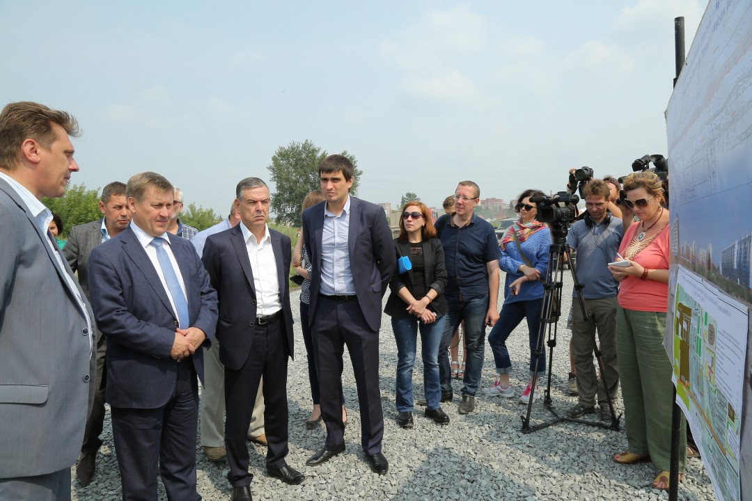 Осенью в Новосибирске запустят трамвай до микрорайона Чистая слобода