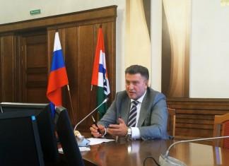 Андрей Шимкив затронул вопрос об эффективности деятельности главы департамента лесного хозяйства Новосибирской области Сергея Швеца