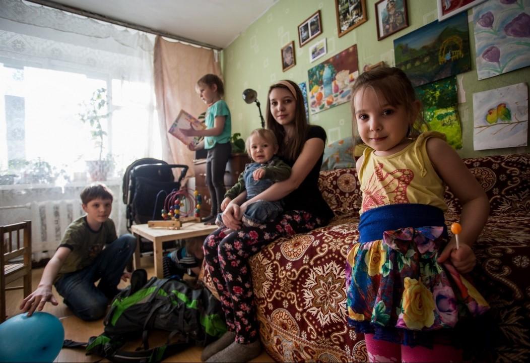 Многодетные семьи Новосибирской области