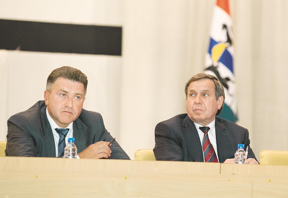 Андрей Шимкив (слева) не раз подчеркивал, что считает его отношения с Владимиром Городецким (справа) «нормальными и конструктивными»