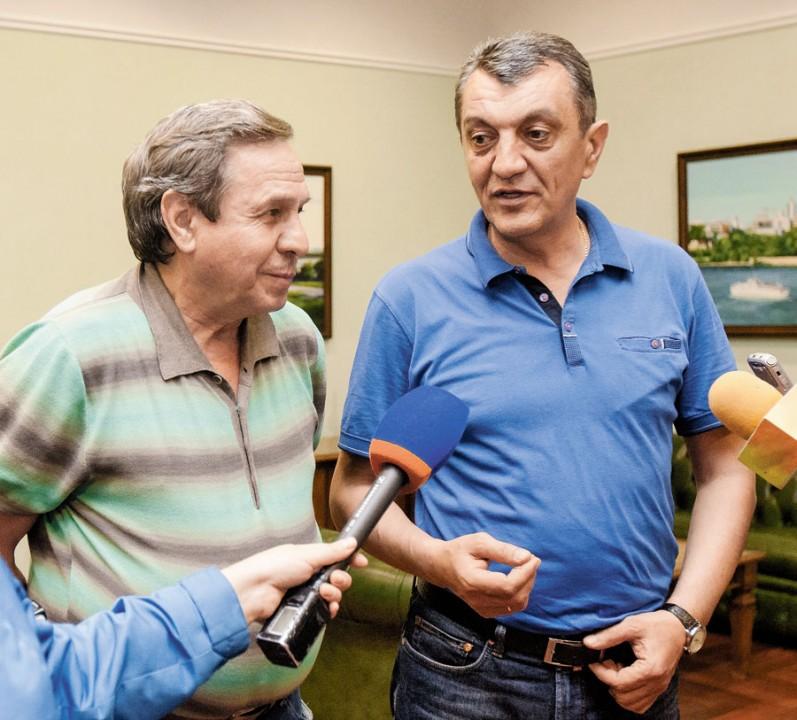 Сергей Меняйло и Владимир Городецкий