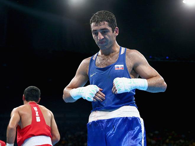Серебряный призер Олимпиады в Рио-де-Жанейро Миша Алоян