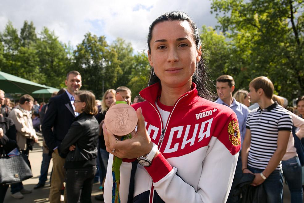 Бронзовая призерка летних Олимпийских игрв Рио-де-Жанейро Любовь Шутова, Федерация фехтования России