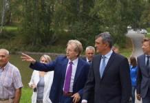 Сергей Меняйло и Николай Красников (в центре справа налево) sfo.gov.ru