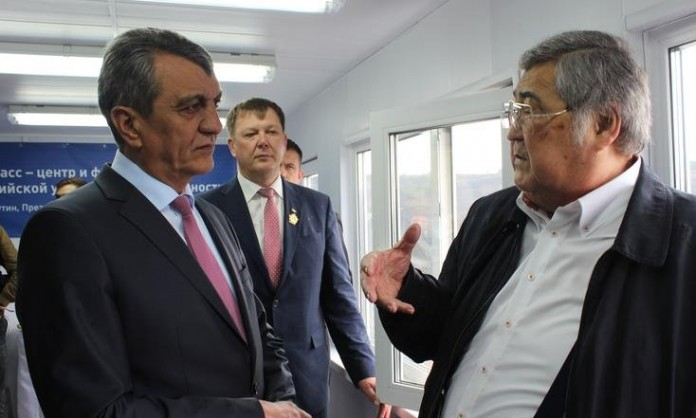 Сергей Меняйло на Кузбассе