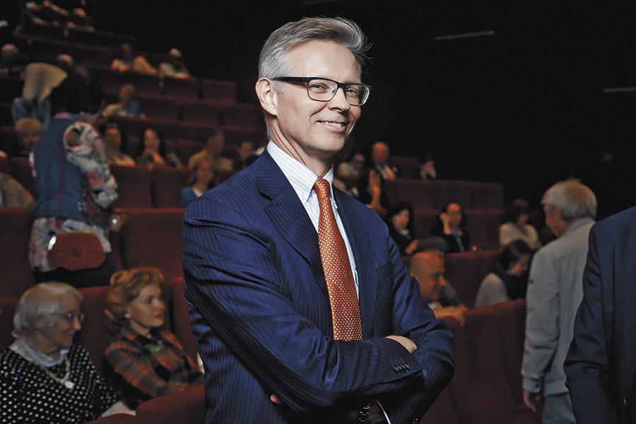 Чрезвычайный и Полномочный Посол Королевства Швеция Открытие фестиваля в России Петер Эриксон