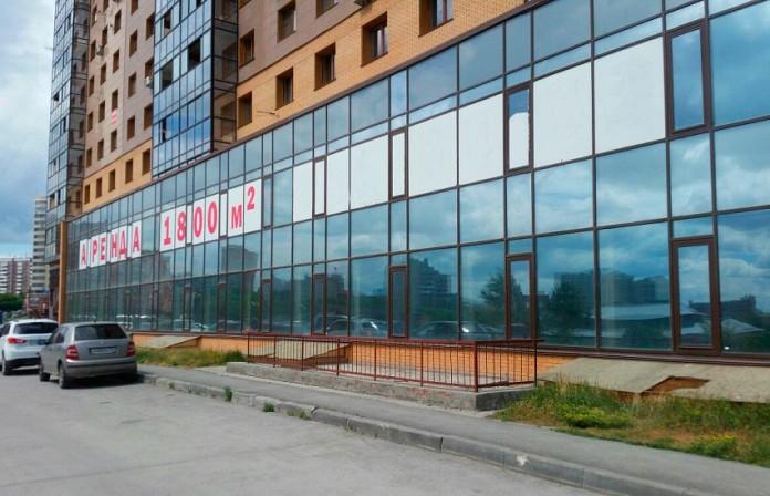 Миниатюра для: Самый заполненный баннерами в Новосибирске район – Центральный