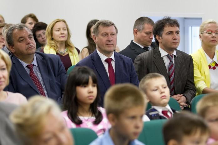 В Новосибирске открыли новое здание школы искусств