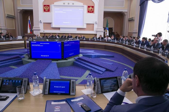 совет депутатов Новосибирска Фото Михаила Перикова