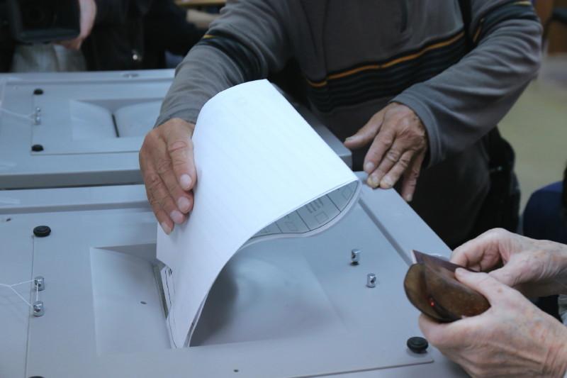 выборы Фото Михаил Периков