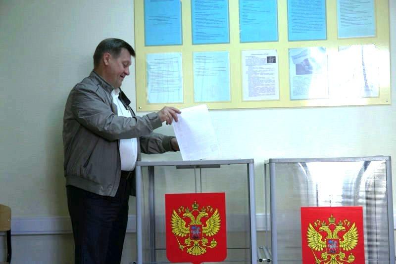 Лидер новосибирских коммунистов, мэр Новосибирска Анатолий Локоть