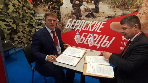 Новосибирск поставит для армии обувь на500 млн руб.