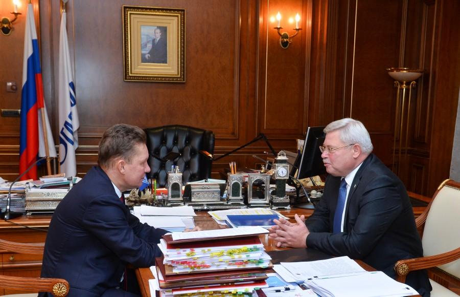 «Газпром» инвестирует 800 млн руб вгазификацию Томской области