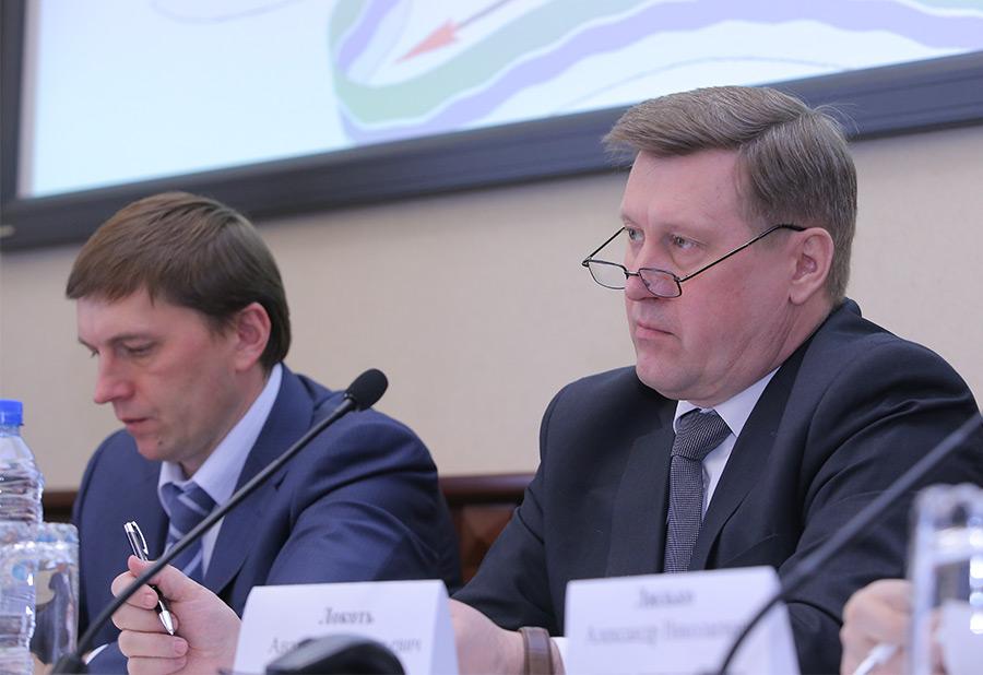Виктор Игнатов и Анатолий Локоть
