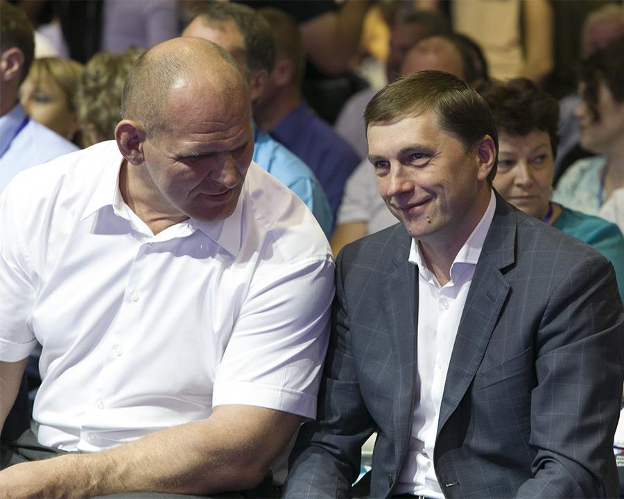 Виктор Игнатов и Александр Карелин
