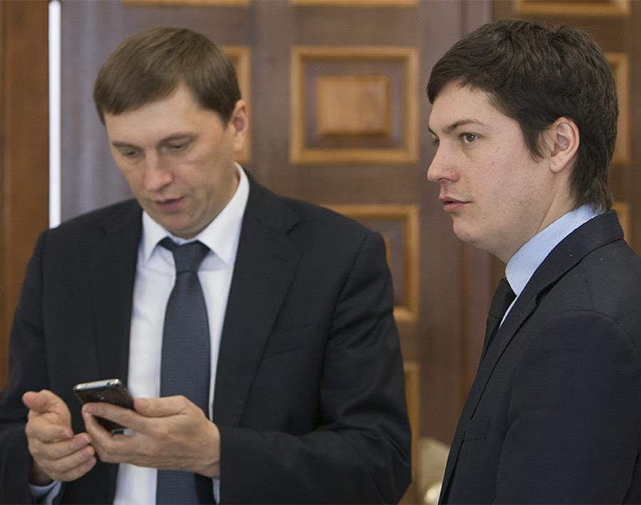Виктор Игнатов и Артем Скатов