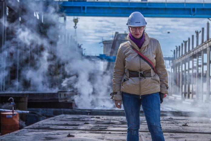 Новосибирские блогеры посетили завод «ДСК КПД-Газстрой»