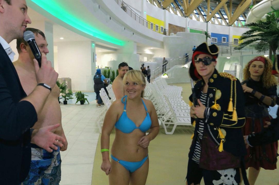 Самый большой аквапарк России официально открылся в Новосибирске