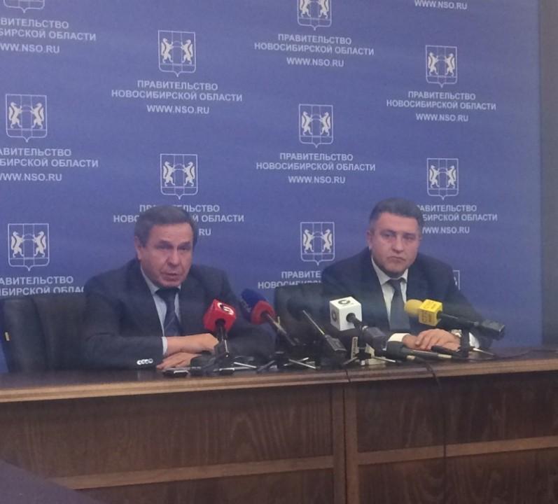 Владимир Городецкий и Андрей Шимкив дали совестную пресс-конференцию