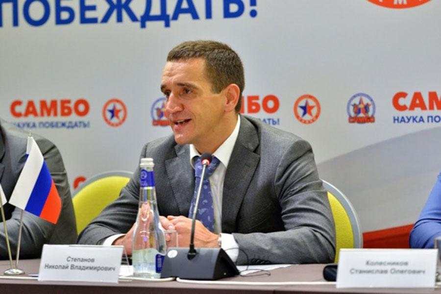 Президент Новосибирской федерации самбо Николай Степанов