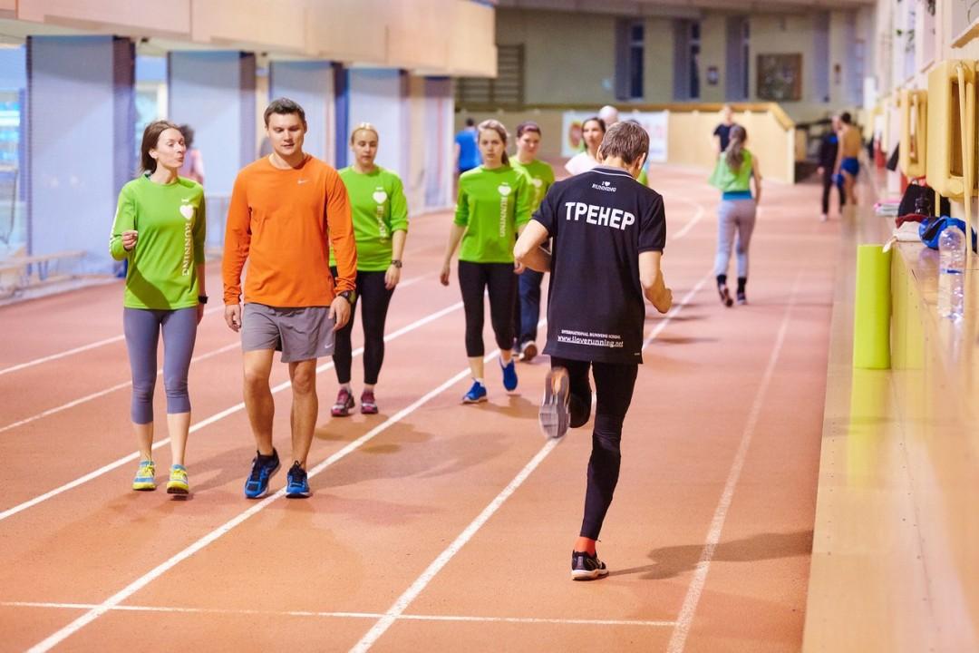 Школы правильного бега заняли второе место в рейтинге экспертного совета. На фото - тренировка I Love Running Новосибирск