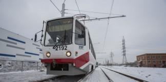 В Новосибирске запущены первые трамваи до микрорайона «Чистая Слобода»