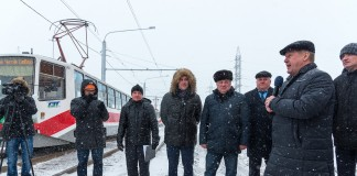 В Новосибирске запущен трамвай до «Чистой Слободы»