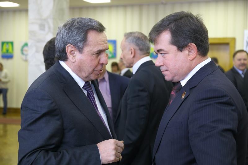 Владимир Городецкий и Андрей Жирнов (слева направо)