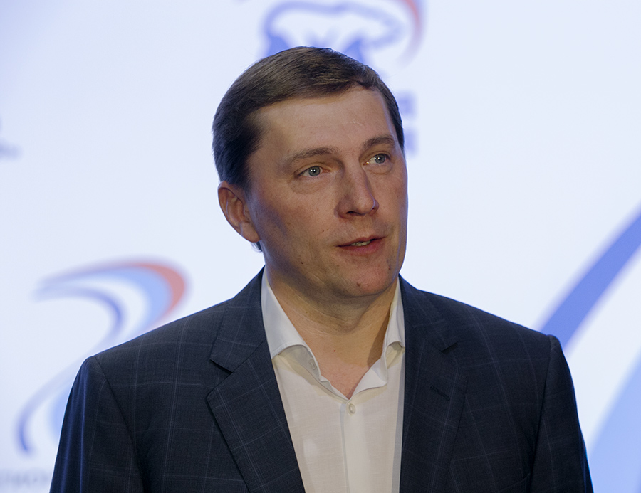 """Через три года после исключения из партии Виктор Игнатов вернулся в """"Единую Россию"""""""